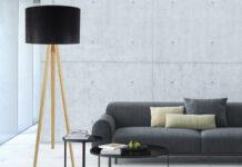 lampy stojące w mieszkaniu